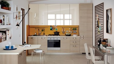 introducing scavolini's easy kitchen collection - dillon amber dane
