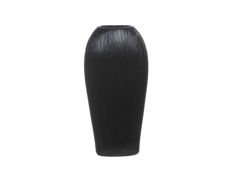 Small Black Jewel Ceramic Vase Dillon Amber Dane