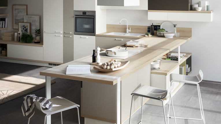 Evolution of kitchen design and layouts dillon amber dane - Piano lavoro cucina acciaio ...