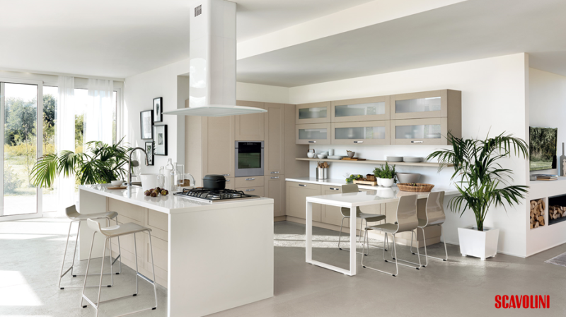 Large Scavolini Kitchen with Zones