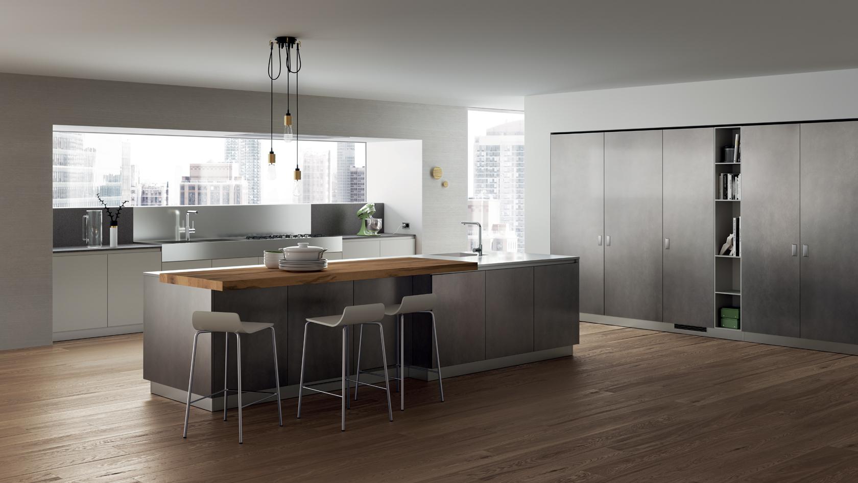 Foodshelf kitchen dillon amber dane barbados showroom for Scavolini kitchens
