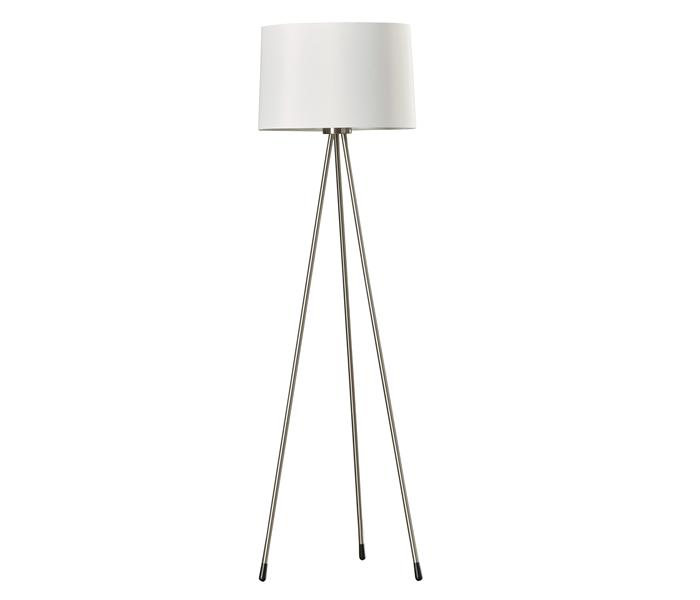 White Tripod Floor Lamp - Dillon Amber Dane Lamp Store Barbados