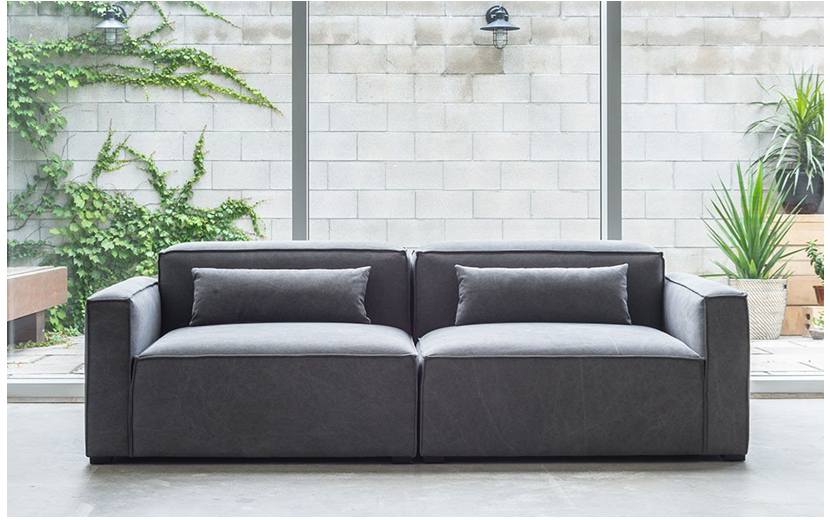 Mix Modular Sofa In Vintage Smoke