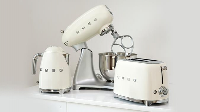 Retro Small Appliances By Smeg