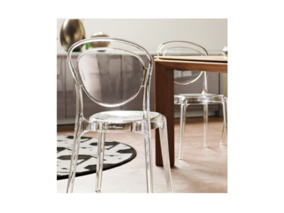 Transparent Parisienne Chairs