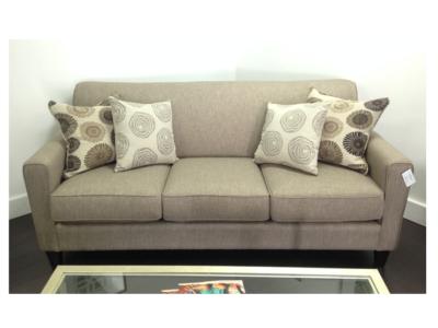 Sergio Wood Transitional Sofa