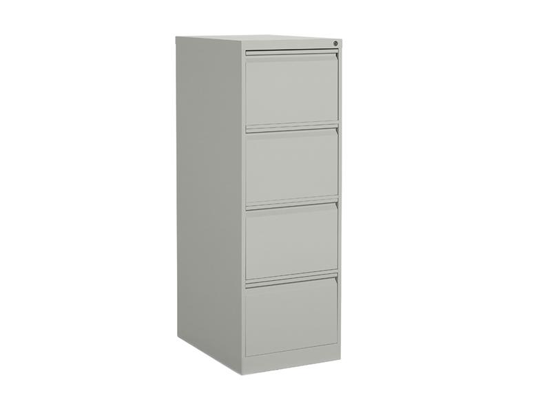 Grey 4 Drawer Vertical Filing Cabinet Dillon Amber Dane