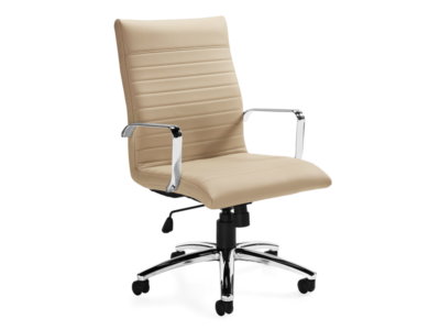 Beige Ultra Executive Office Chair