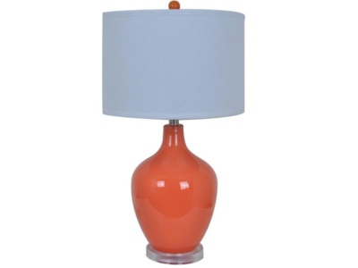 Avery Orange Table Lamps