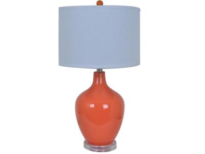 Avery Orange Table Lamps