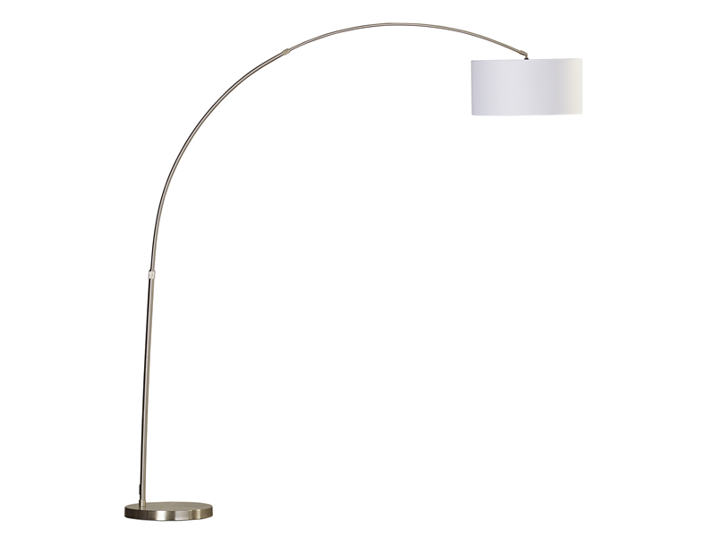 Modern Arched Floor Lamp Dillon Amber